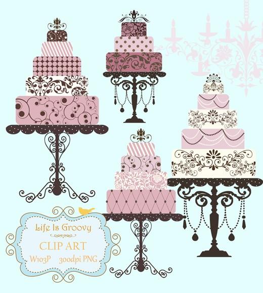 cake clipart classy