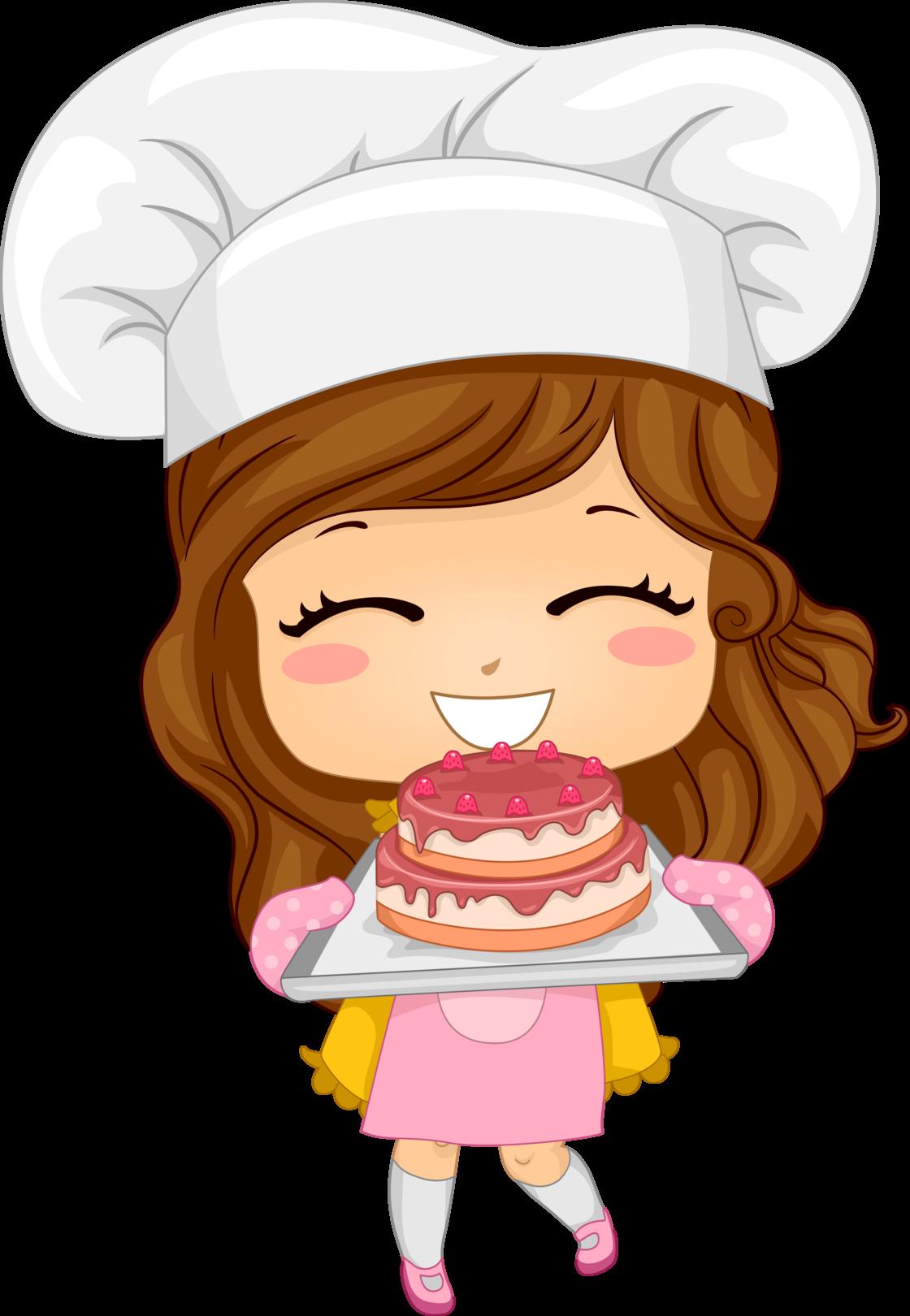Female clipart baking. Classy cakes cookies calgary