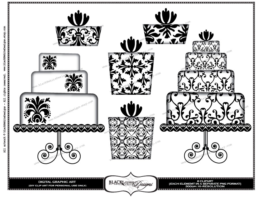 Cake clipart classy.  collection of elegant