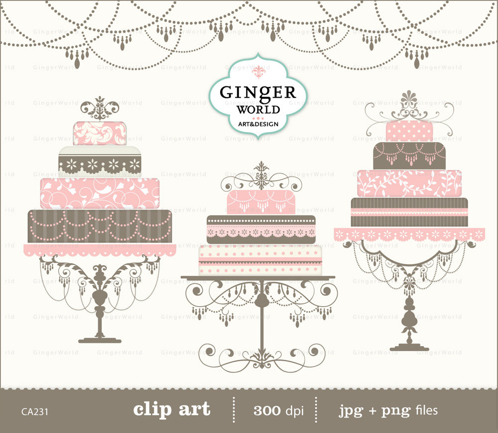 Cake clipart classy. Pencil and in color