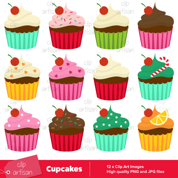 Cake clipart cupcake. Cup cupcakes cute