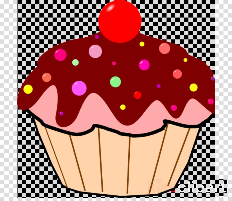 Birthday cartoon cup . Cake clipart cupcake