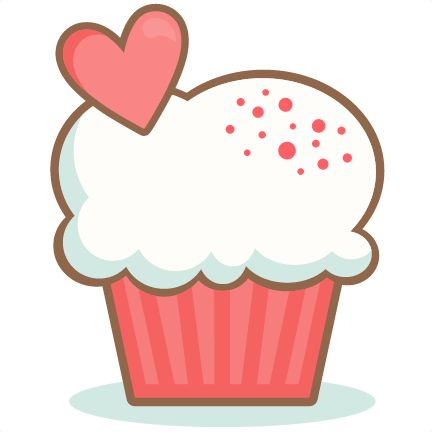 Cup station . Cake clipart cupcake