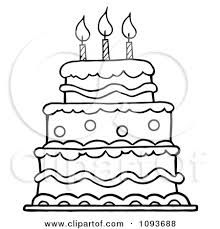 Image result for birthday. Cake clipart easy