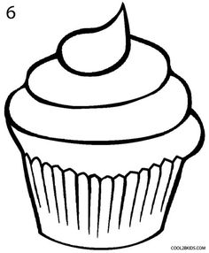 Cake clipart easy. How to draw a