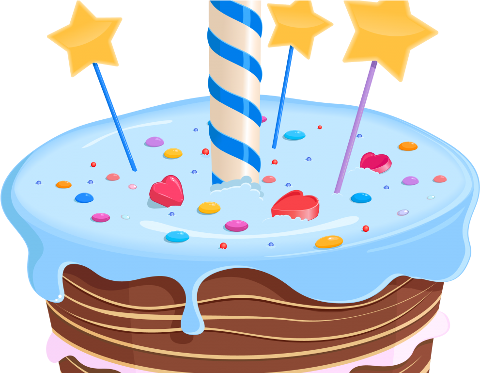 Birthday first png . Cake clipart fancy