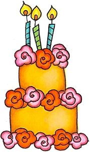 Cake clipart floral. Flower birthday fonts printables