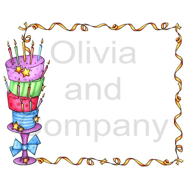 Attractive photo pattern ideas. Cake clipart frame