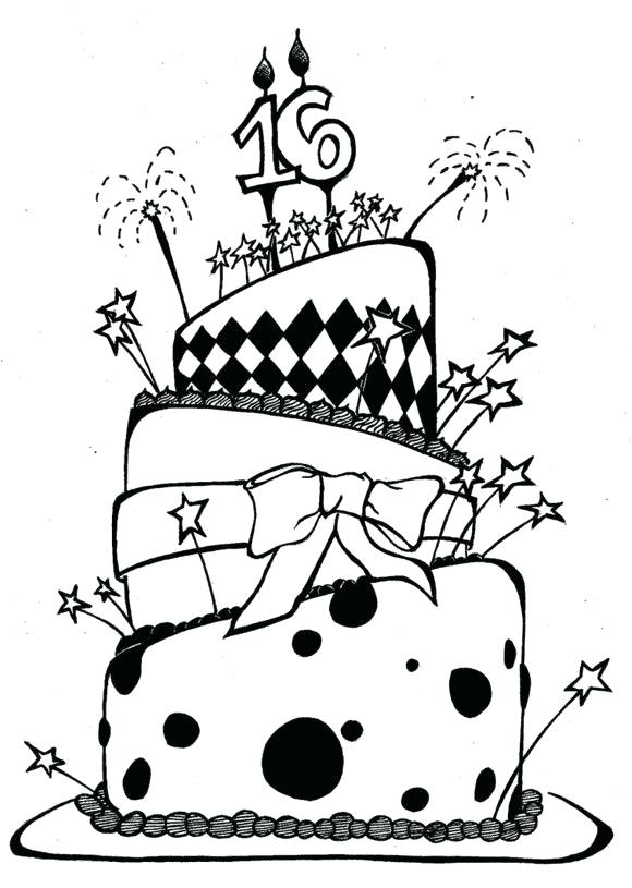 cake clipart funky