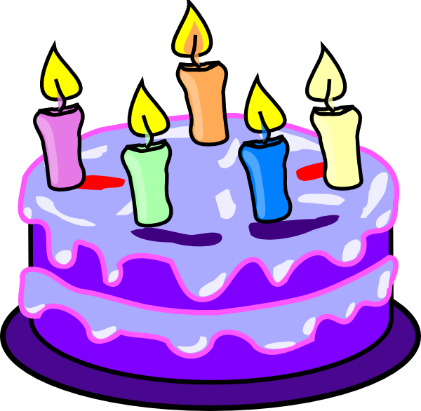 Fraction clipart cake. Birthday clip art at