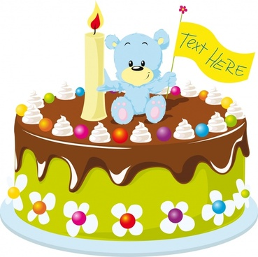 Birthday clip art arts. Clipart cake gambar