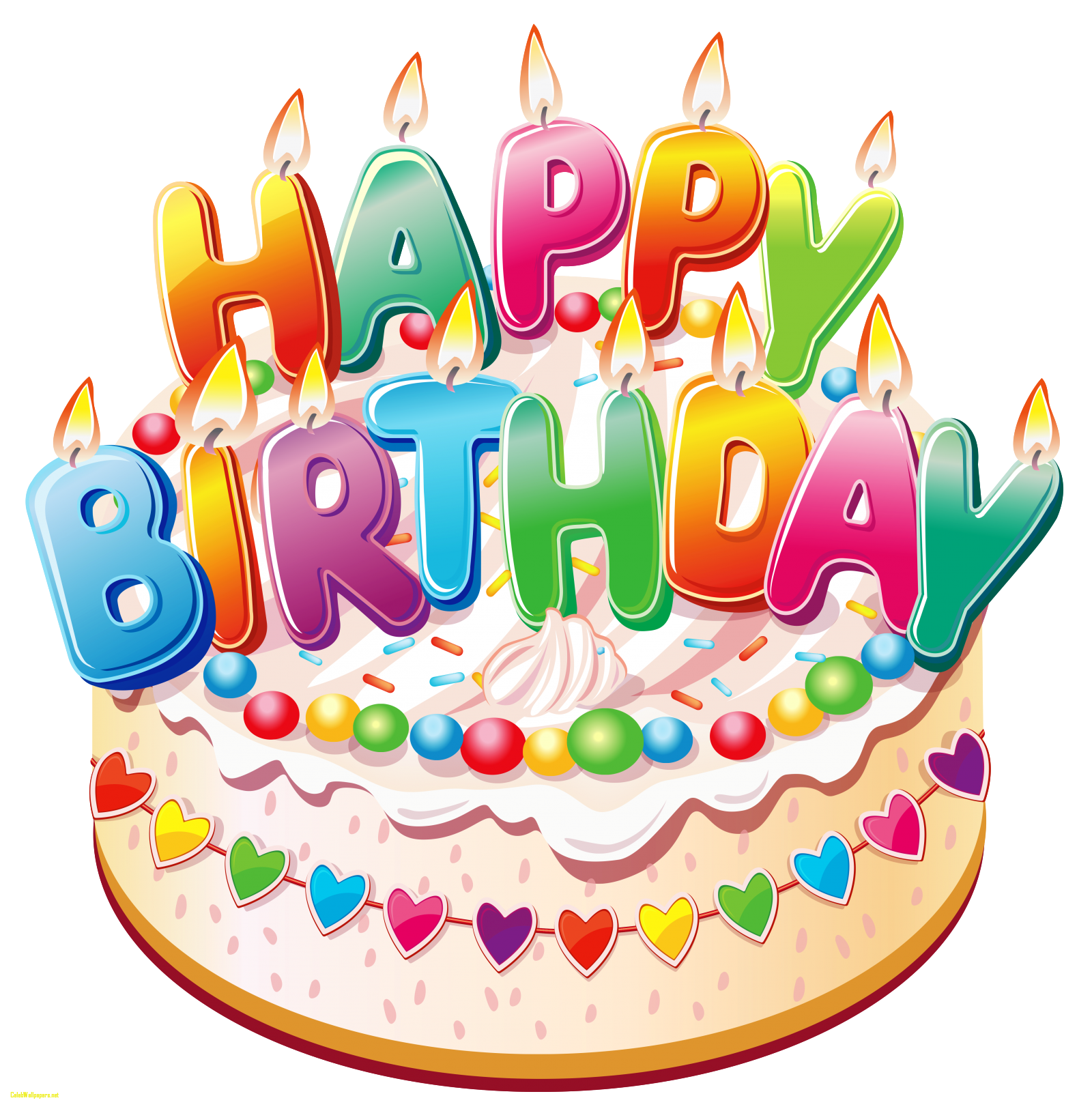 Birth day images cake. Free clipart happy birthday