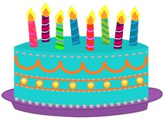 Free images cliparts co. Blue clipart birthday cake