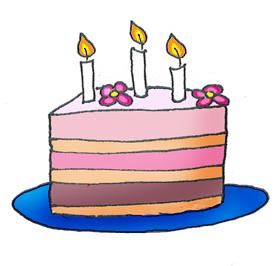 Cake layered cake