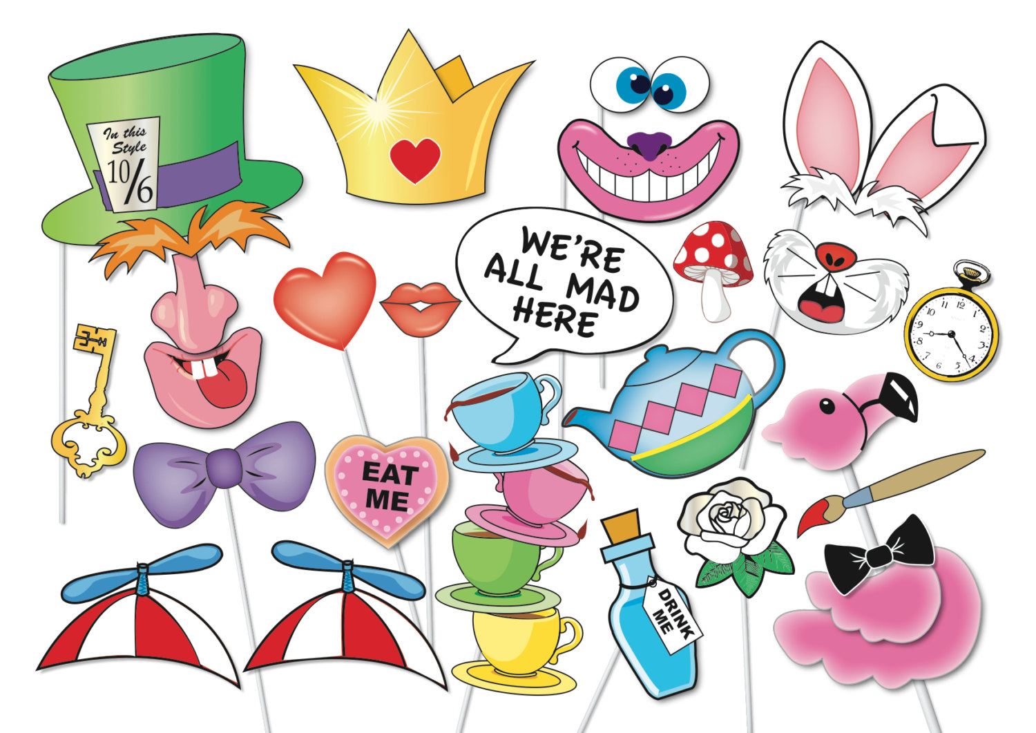 Hatters tea party photo. Cake clipart mad hatter