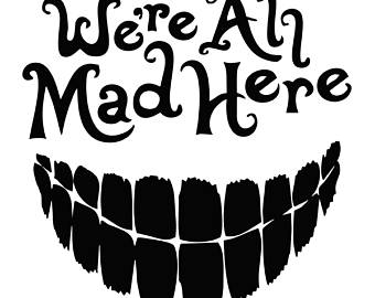 Decal etsy were all. Cake clipart mad hatter