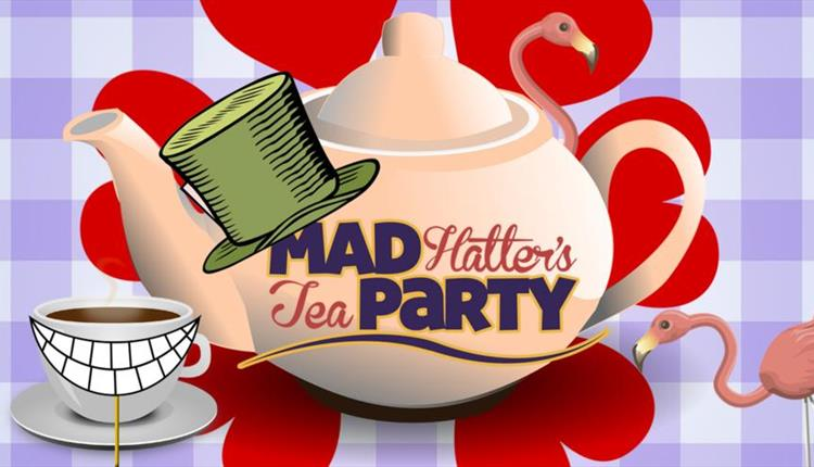 S tea party corner. Cake clipart mad hatter