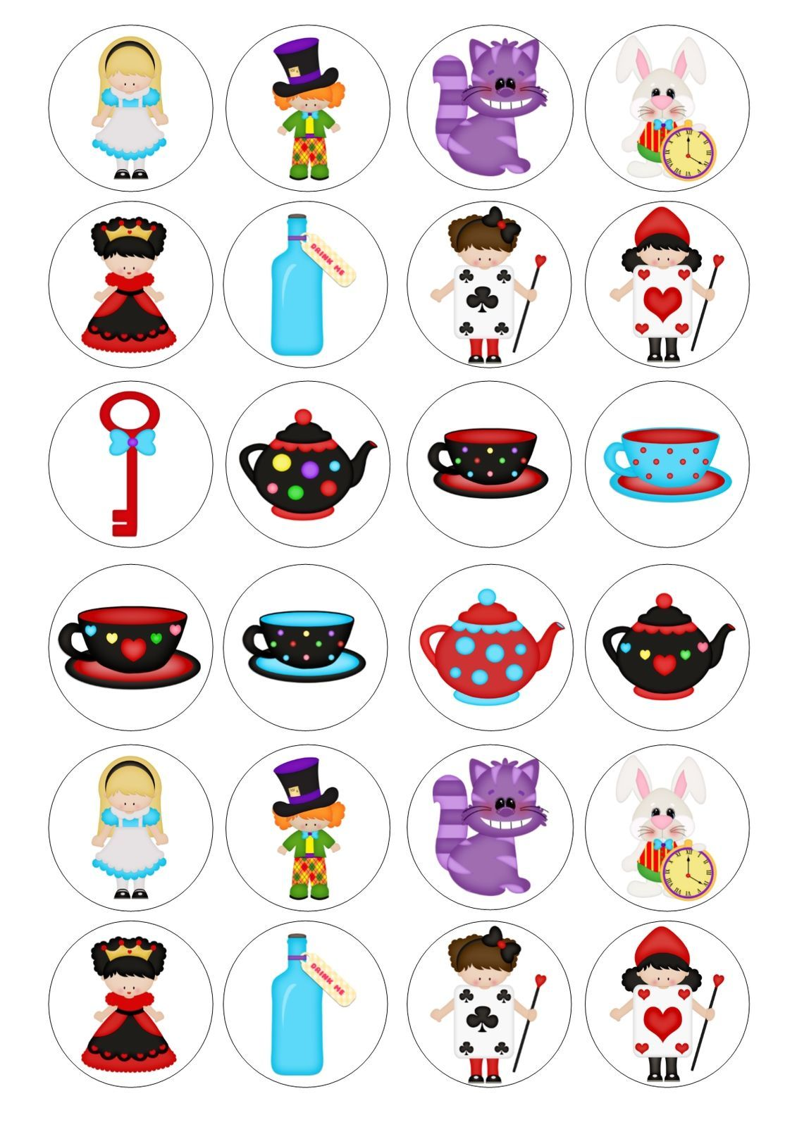 Cake clipart mad hatter.  alice tea party