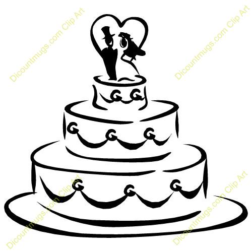 Wedding shower clip art. Cake clipart money