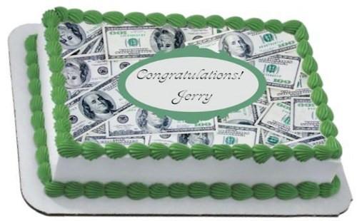 Dollar bills cash moolah. Clipart cake money