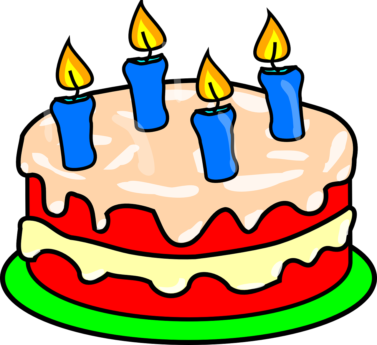 A year of reading. Clipart cake money