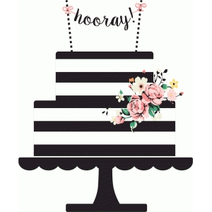 Design store view hooray. Cake clipart silhouette