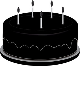 Cake clipart silhouette. At getdrawings com free
