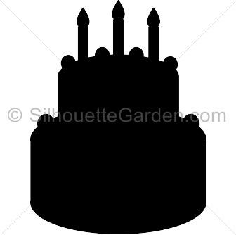 collection of high. Cake clipart silhouette