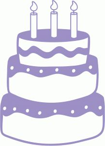 Cake clipart silhouette. Online store view design