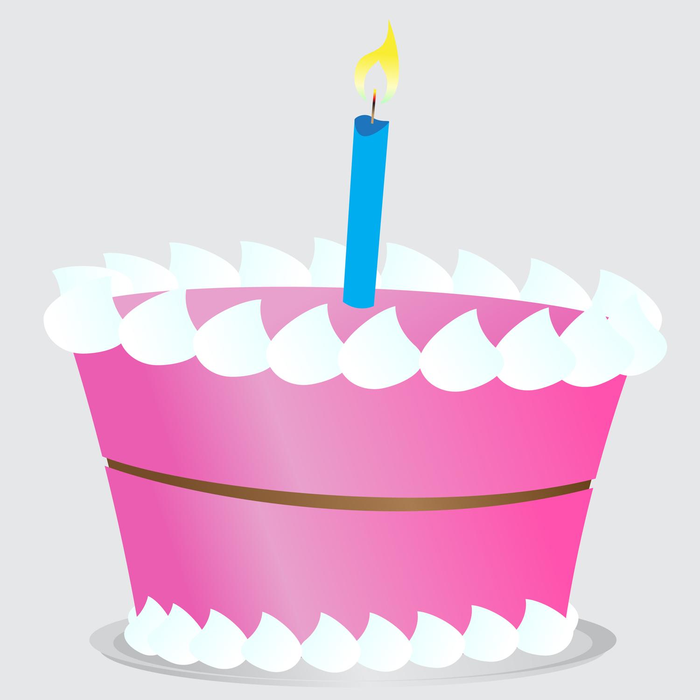 Birthday panda free images. Cake clipart simple