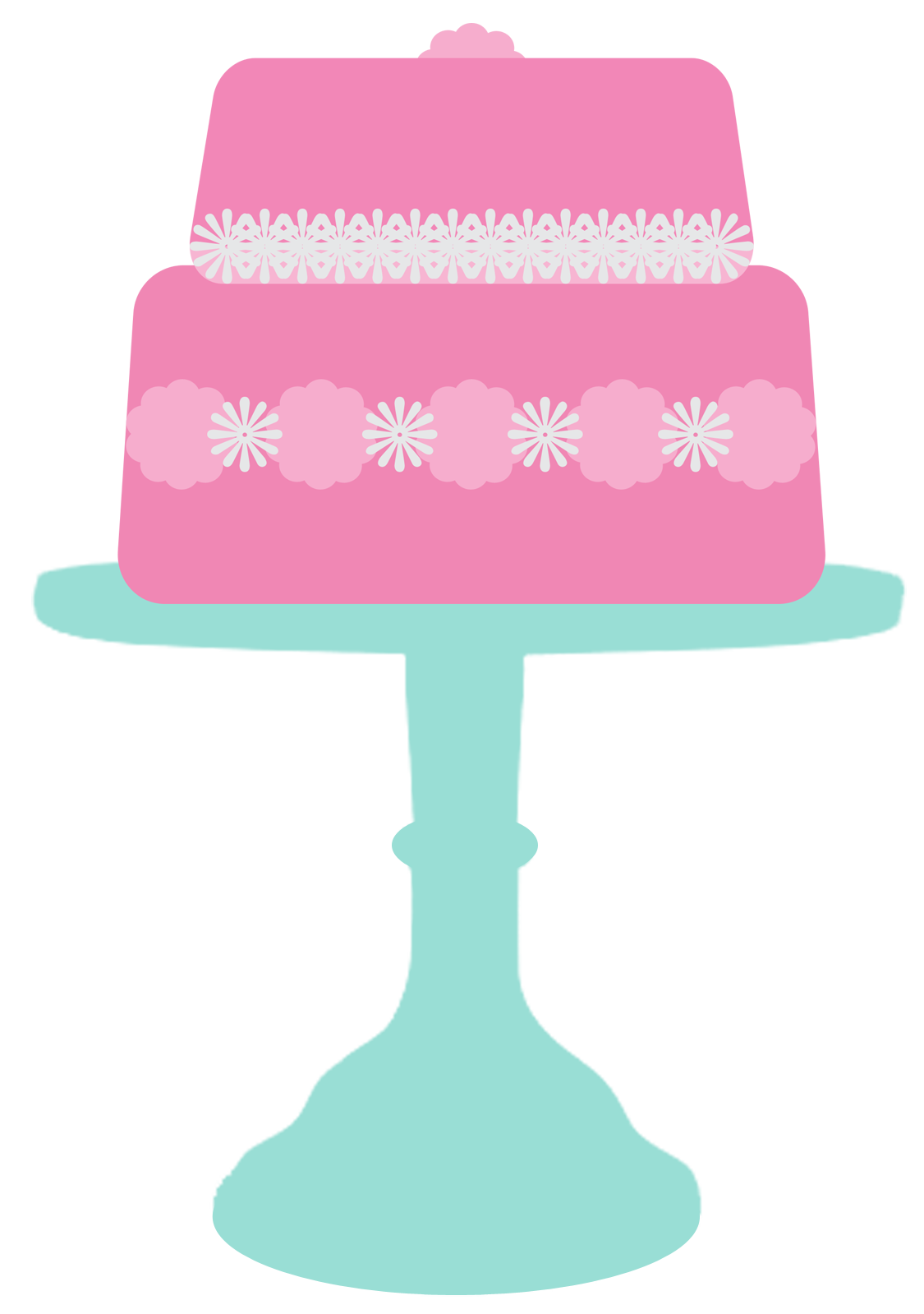 . Clipart cake stand
