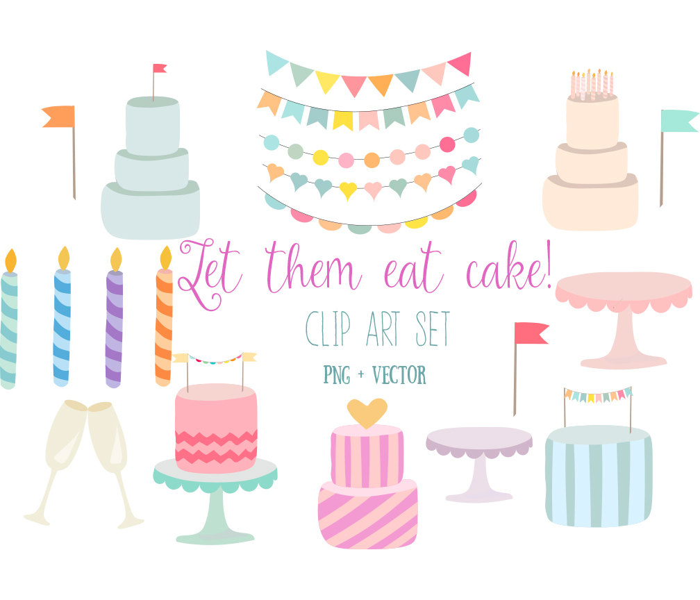 Party birthday clip art. Cake clipart stand