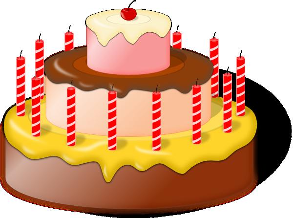 Clip art at clker. Cake clipart tart