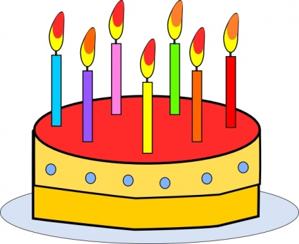 Birthday clip art panda. Cake clipart tart