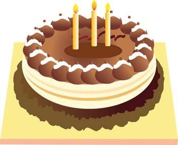 Cake clipart tart. Free birthday and vector