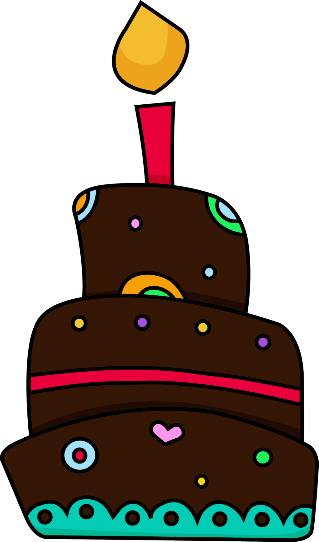 Chocolate birthday cake clip. Intolerable acts clipart demand economics
