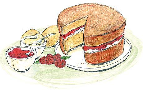 Best british recipes victoria. Cake clipart victorian