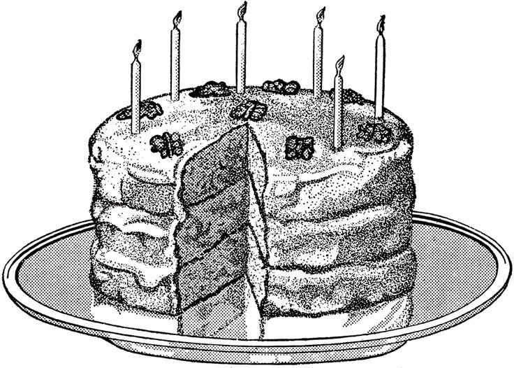 best clip art. Cake clipart victorian
