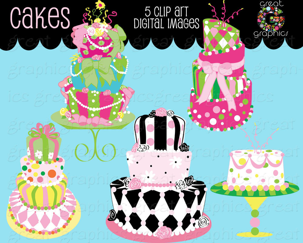 Clipart cake whimsical. Birthday views downloads file
