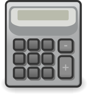 Clip art at clker. Calculator clipart