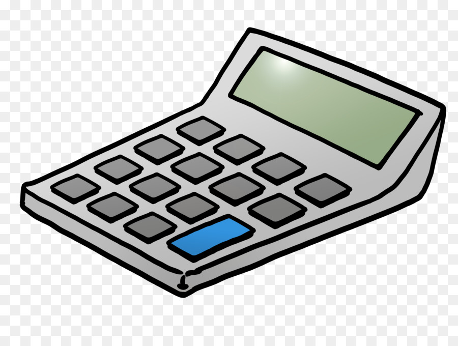 Scientific graphing clip art. Calculator clipart