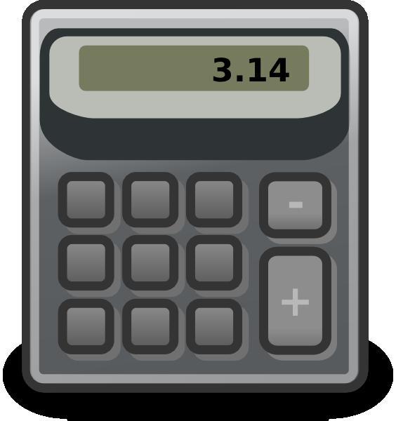 Calculator clipart amount. Accessories clip art at