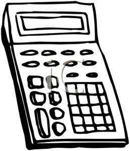 Panda free images calculatorclipart. Calculator clipart black and white