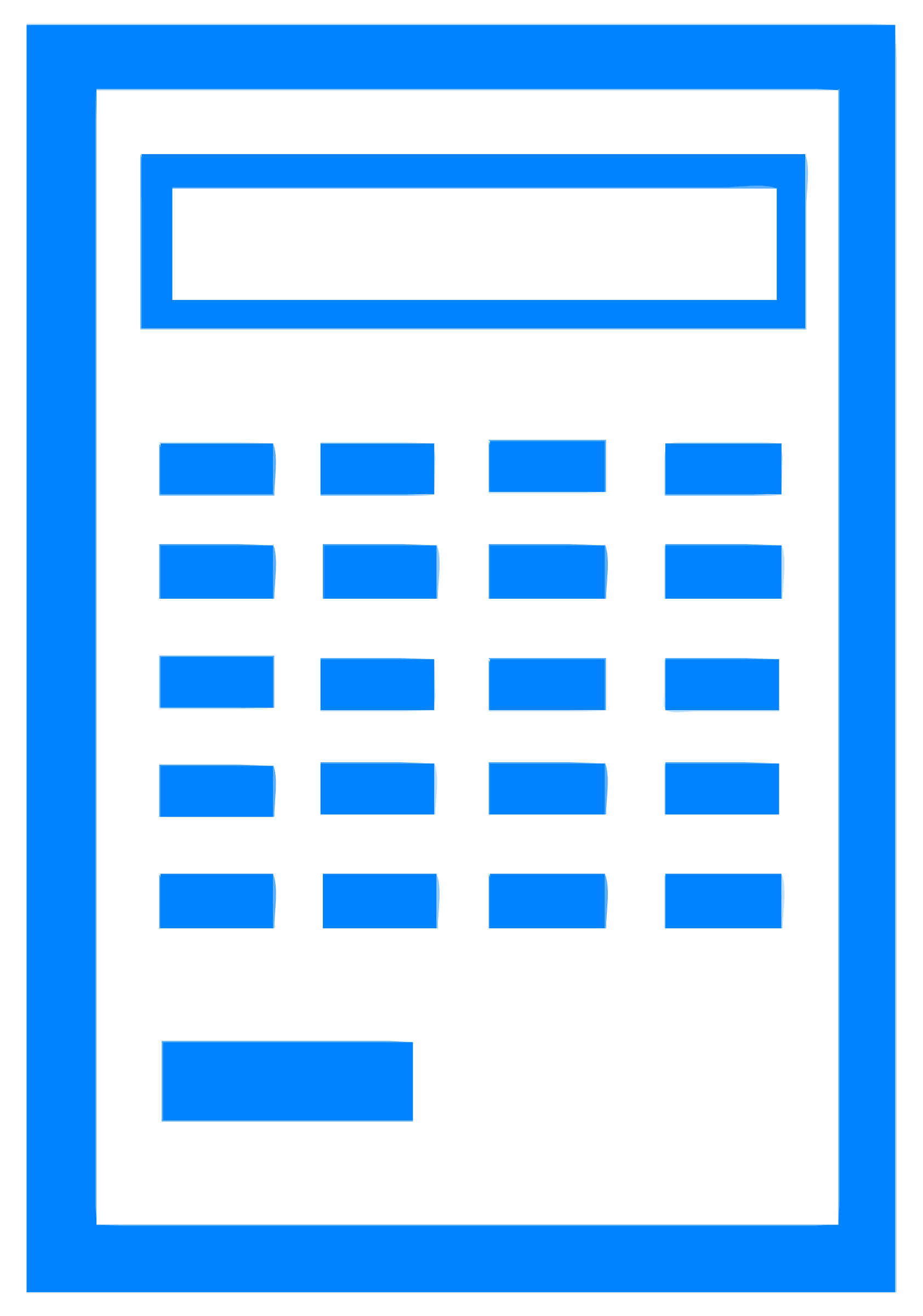 Icon big image png. Calculator clipart blue
