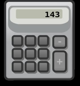 Clip art at clker. Calculator clipart caculator
