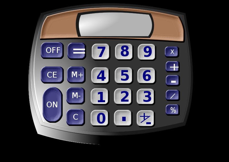 Clip art download. Calculator clipart caculator