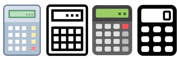 Icon free download png. Calculator clipart calcu