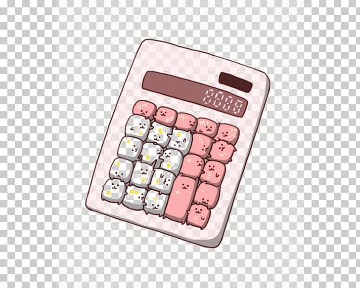 Calculator clipart calculater. Drawing kavaii cuteness chibi