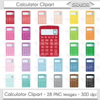 Calculator clipart calulator. Clip art rainbow math