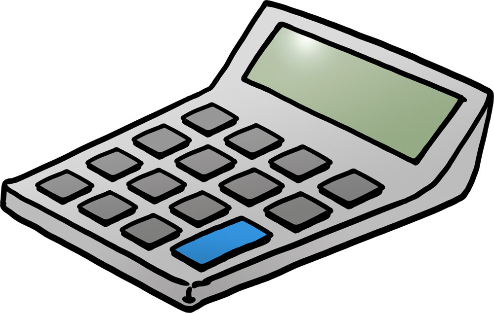 Station . Calculator clipart cartoon